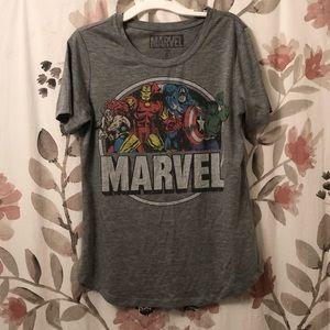 Marvel Avengers gray t shirt